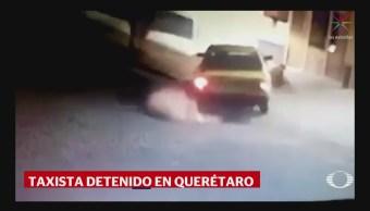 Detienen Taxista Embistió Persona Discapacidad CDMX