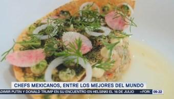 Dos chefs mexicanos, entre los mejores del mundo