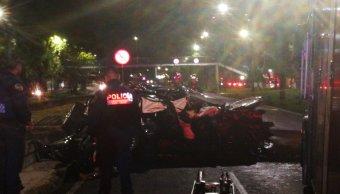Dos hombres mueren en accidente automovilístico sobre Viaducto