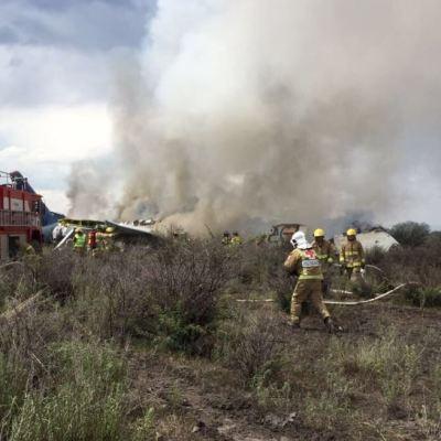 PGR inicia carpeta de investigación por accidente de avión en Durango