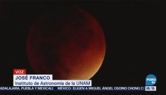 Eclipse lunar permitirá apreciar la Luna de Sangre