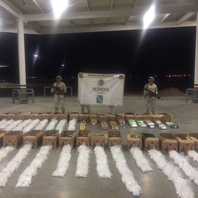 Ejército asegura droga en carretera de Sonora; hay un detenido