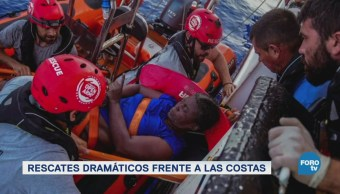 El drama de los migrantes que buscan pisar suelo europeo