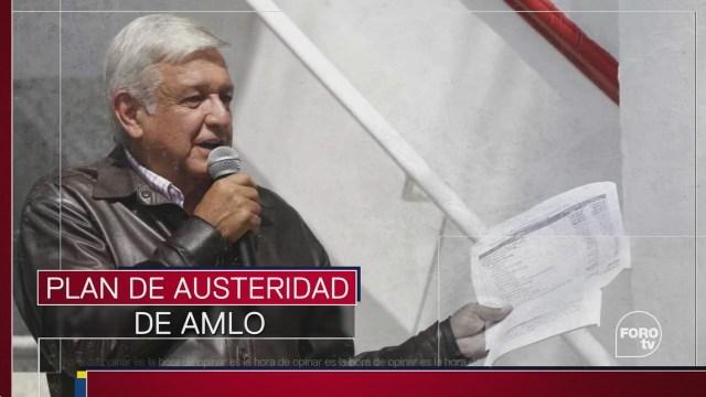 El efecto político del plan de austeridad de AMLO