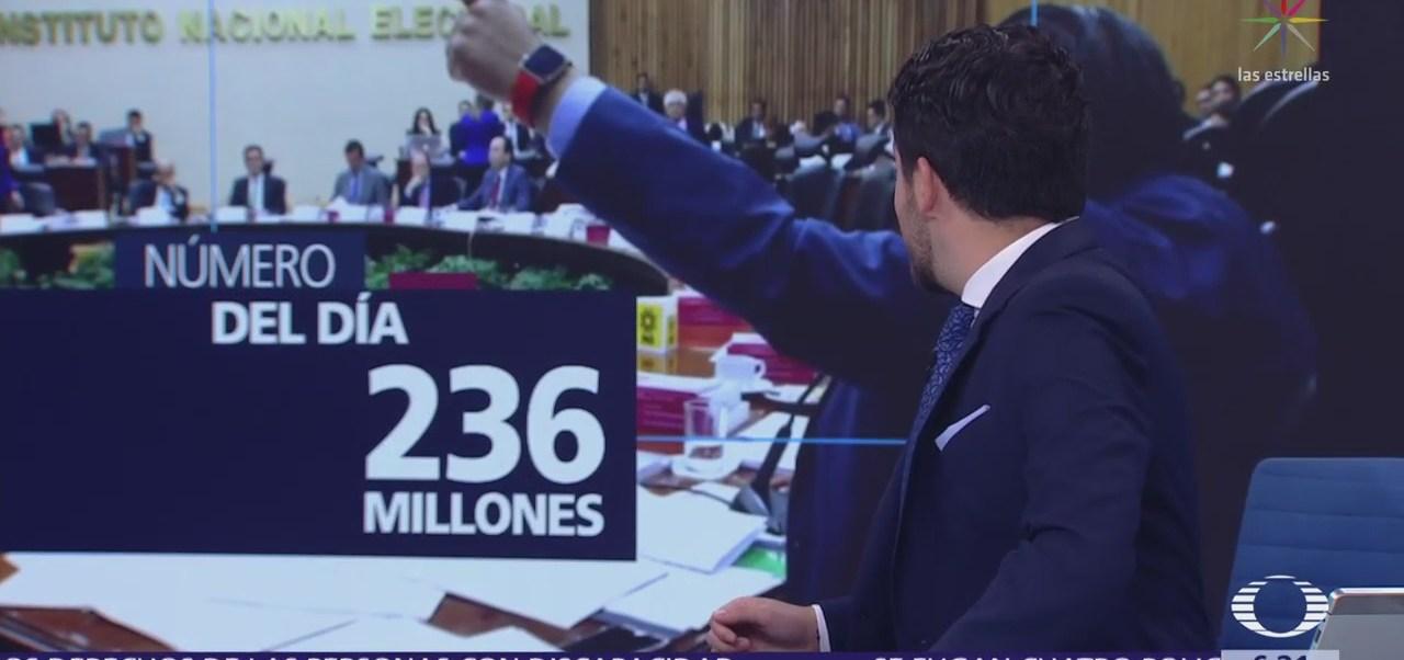 El número del día: 236 millones