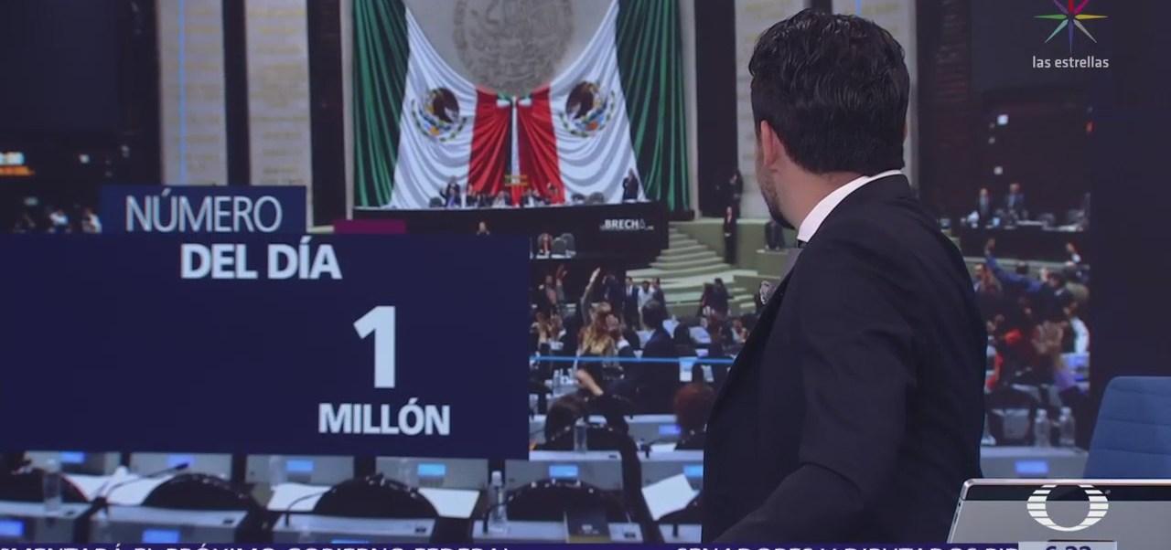 El número del día: Un millón