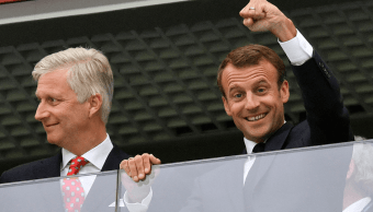 Macron asistirá a la final de la Copa Mundial en Rusia