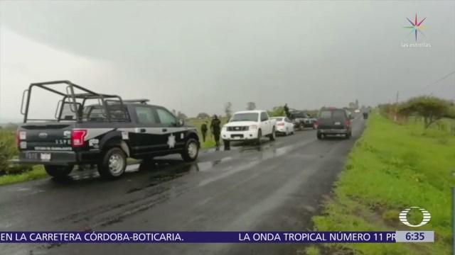 Emboscan a policías del Mando Único en Guanajuato