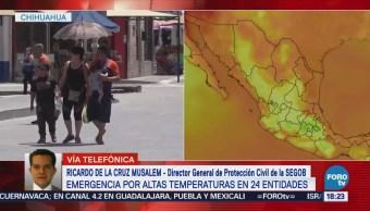 Emiten declaratoria de emergencia extraordinaria por calor
