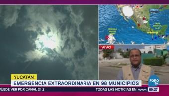 Emiten Emergencia Extraordinaria Calor 98 Municipios Yucatán