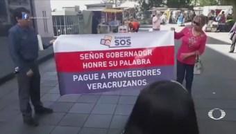 Empresarios exigen pago de adeudo en administración Duarte