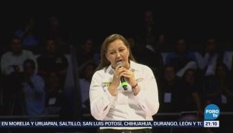 Entregan Constancia Mayoría Gobernadora Electa Puebla