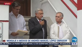 Equipo López Obrador Recibe Carta Presidente Donald Trump