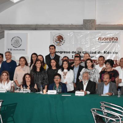 Morena no será tapadera de asuntos turbios en Asamblea Legislativa, advierte coordinadora