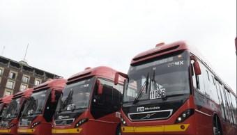 Metrobús de la Ciudad de México estrena 66 unidades articuladas