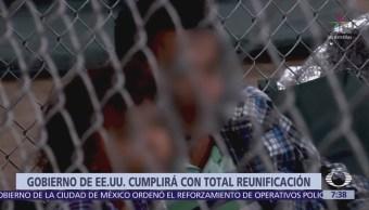 EU tiene 24 horas para reunificar a familias migrantes separadas