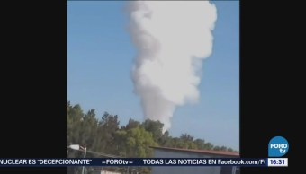 Explosión Polvorín Muertos Tultepec Pirotecnia Edomex