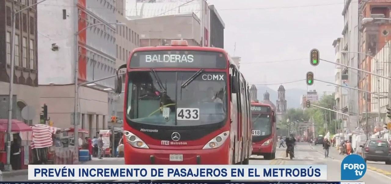 Extra Extra: Prevén incremento de pasajeros en el Metrobús CDMX