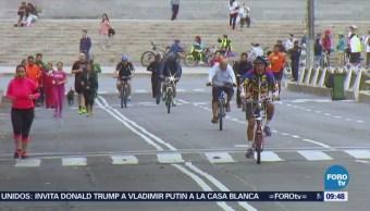Regalarán bicicletas para celebrar 11 años paseo dominical