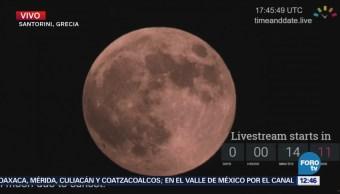 Fase penumbral del eclipse total de Luna