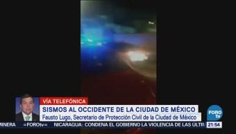 Fausto Lugo Explica Dos Sismos Cdmx