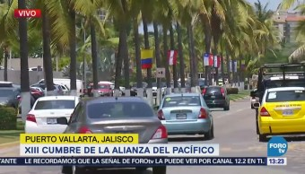 Federales Vigilan Puerto Vallarta Cumbre Pacífico