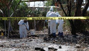 Hallan 11 cuerpos fosas clandestinas menos 24 horas Jalisco