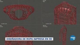 Danit Peleg Una Diseñadora Moda Impresa 3d