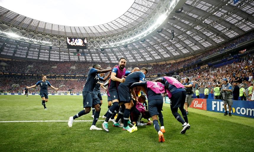 Image result for francia gana el mundial de rusia