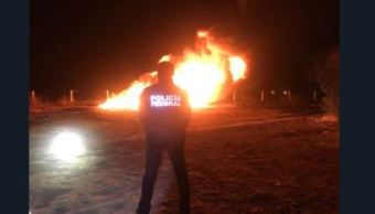 fuga combustible provoca incendio toma clandestina penjamo guanajuato