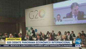 G20 debate panorama económico en Argentina