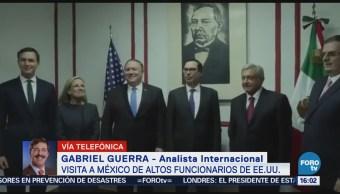 Gabriel Guerra Habla Sobre Visita México Altos Funcionarios Eu