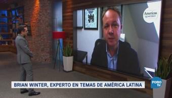 Genaro Lozano entrevista a Brian Winter