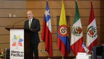 González Anaya participa en reunión de ministros de Finanzas de la Alianza del Pacífico