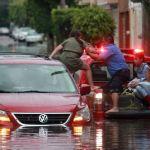 Lluvias provocan inundaciones en municipios de Guanajuato