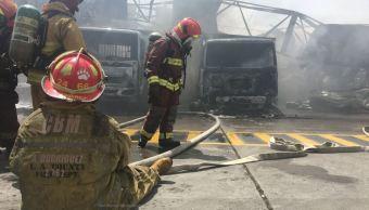 Seis heridos deja incendio en planta de gas en Guatemala