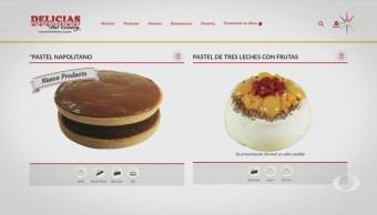 Hombres armados roban cargamento de pasteles