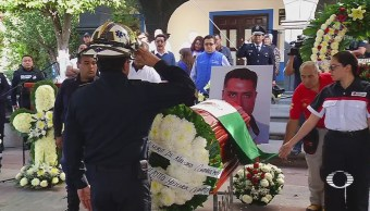 Homenajean Bomberos Caídos Explosiones Tultepec Edomex