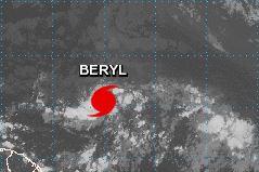 'Beryl' se convierte en el primer huracán de la temporada en el Atlántico