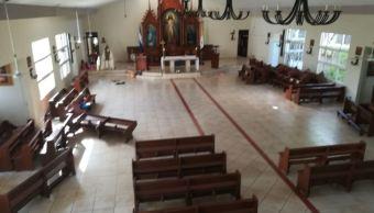 Estudiantes Nicaragua salen de iglesia donde eran asediados