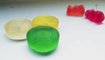 Imprimen microelectrodos en ositos de goma