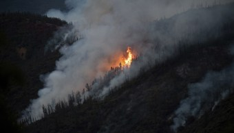 Incendio forestal amenaza parque Yosemite California