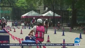 Inicia proyecto de 'biciescuela' en el Bosque de Chapultepec
