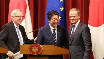 Japón y Unión Europea firman tratado de libre comercio