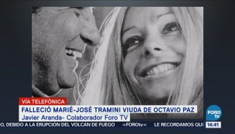 Javier Aranda: Marié-Jo y Octavio Paz fueron