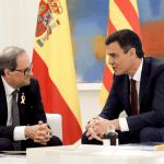 Presidentes de Espana y Cataluna encauzan relación