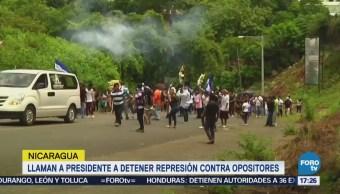 Comunidad Internacional Rechaza Violencia Nicaragua
