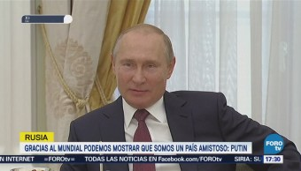 Putin Asegura Mundial Ha Roto Muchos Estereotipos Rusia