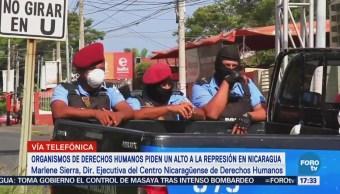 Defensores Derechos Humanos Piden Alto Represión