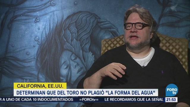 Juez determina que Del Toro no plagió